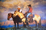 Writing for Peace cowboys